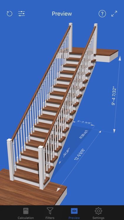 Visual Stair Calc