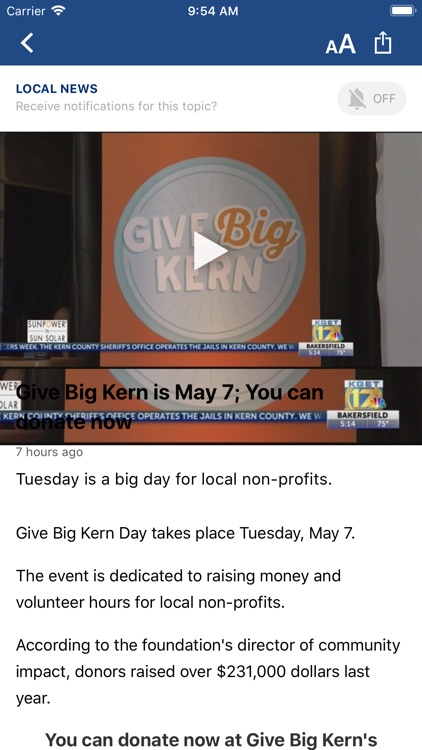 KGET 17 News screenshot-2