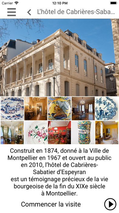 Hôtel Sabatier d'Espeyran screenshot 2