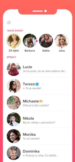 Online seznamovací aplikace ios