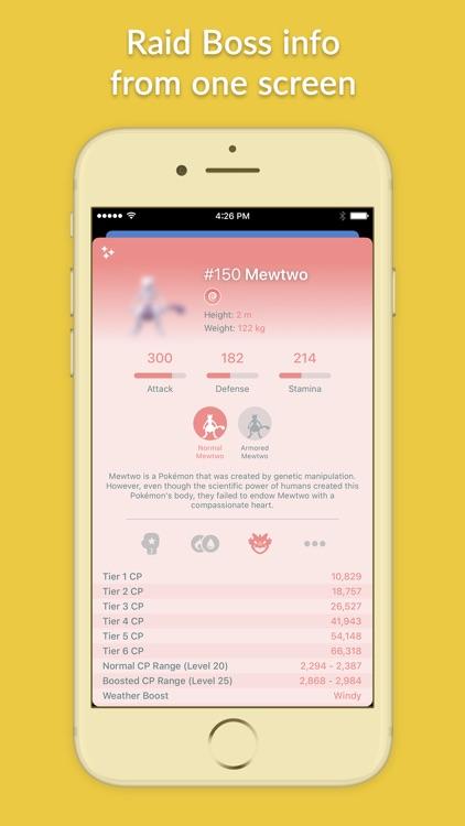 Pocketdex for Pokémon GO screenshot-5