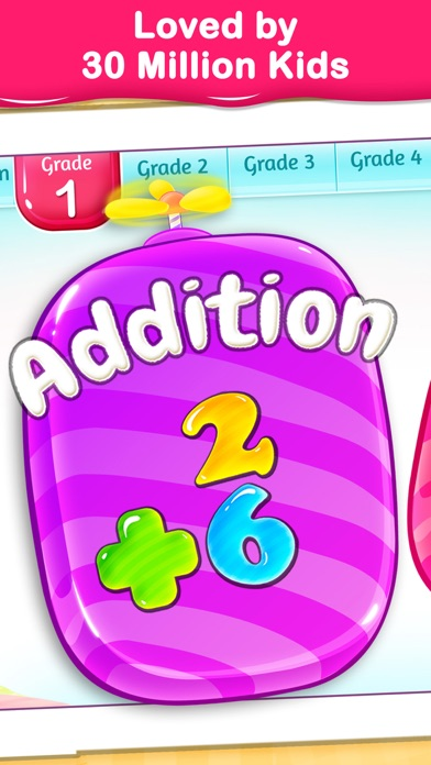 1st Grade Math Learning Games review screenshots