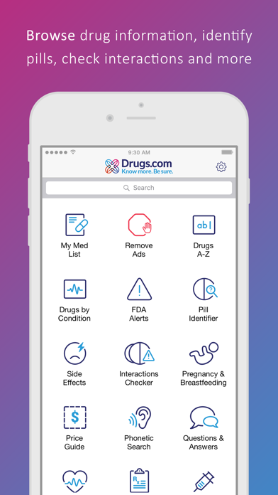 messages.download Drugs.com Medication Guide software