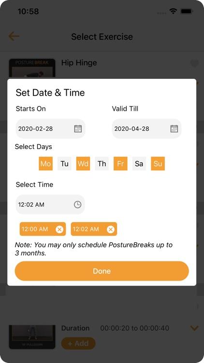 The PostureBreak App screenshot-8