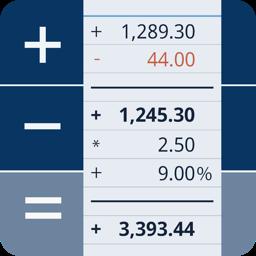 Ícone do app CalcTape calculadora de fita