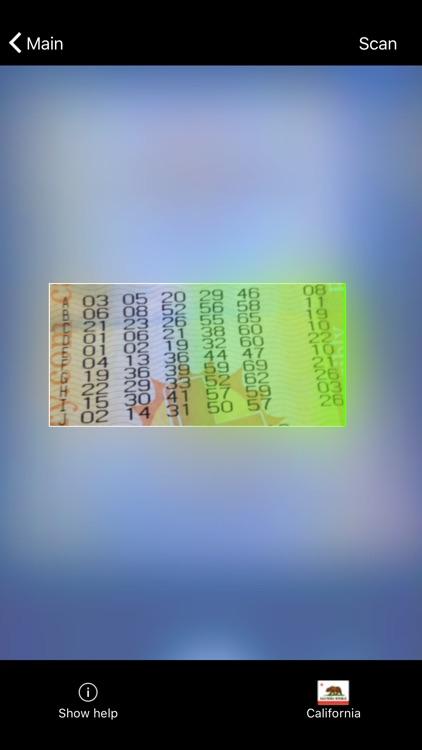LottoMonkey: Scan Lottery screenshot-0