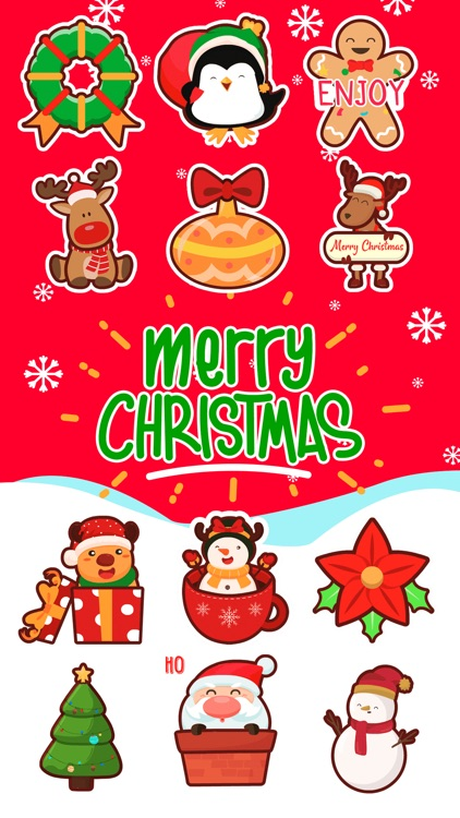 Christmas Stickers *