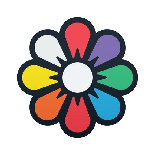 Recolor Coloring Book For Adults 簡単なのにオシャレに仕上がる