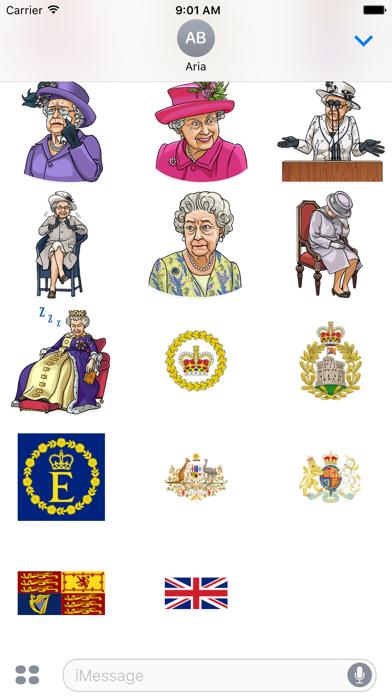 Our Queen Elizabeth II Sticker screenshot 3