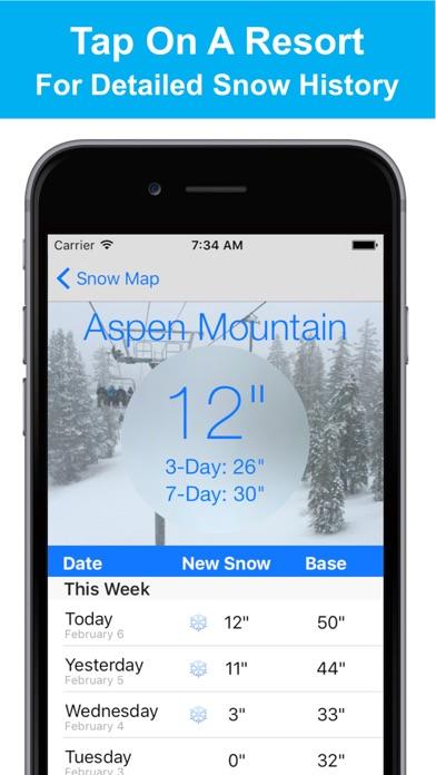 Colorado Snow Map & Webcamsのおすすめ画像2