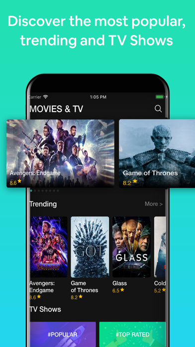Show Box & TV Movie Hub Cinema Screenshot
