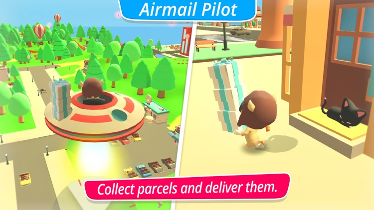 McPanda: Super Pilot Kids Game screenshot-3