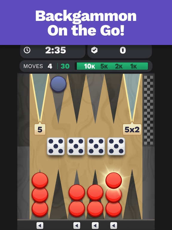 Backgammon Blitz screenshot 6