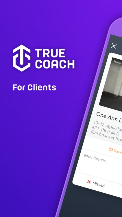 TrueCoach For Clients