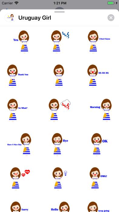 Uruguay Girl screenshot 2