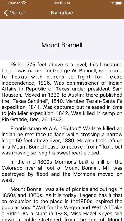 Texas Historical Marker Guide screenshot-3