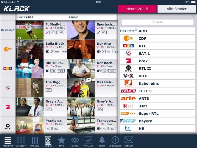 KLACK TV-Programm (Tablet) screenshot-4