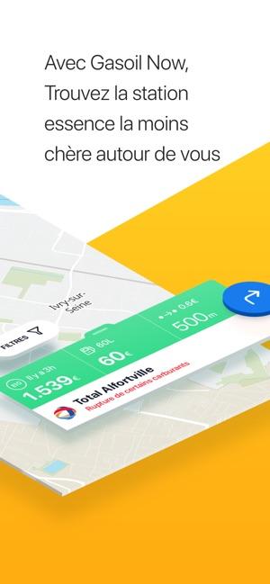 Essence Gasoil Now Dans L App Store