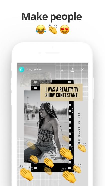 Stories & Video Maker by Canva screenshot-3