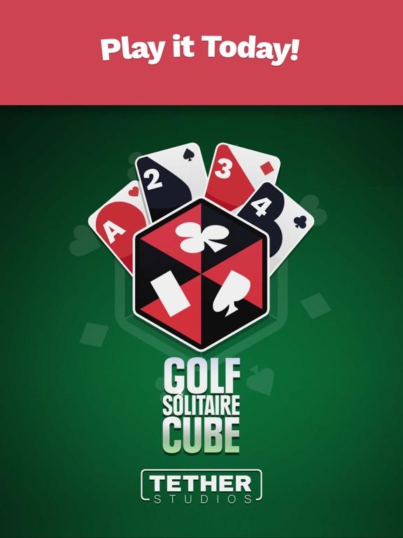 Golf Solitaire Cube screenshot 10