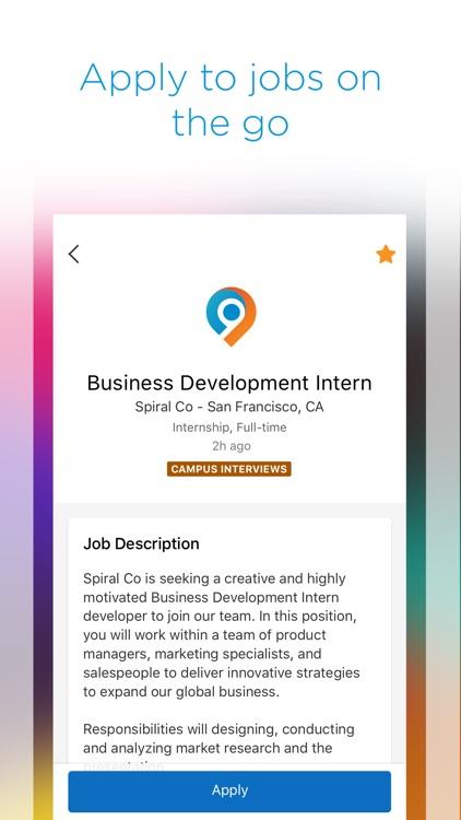 Symplicity Jobs and Careers screenshot-4