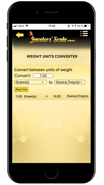 Jewelers' Scale Pro screenshot-5