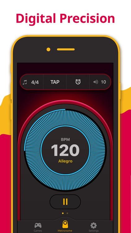 Metronome - Tap Tempo & Rhythm screenshot-0