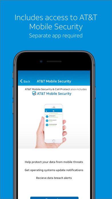 AT&T Call Protect Screenshot