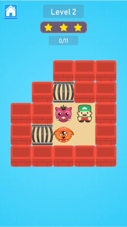 Cage Monsters Push Puzzle screenshot-6