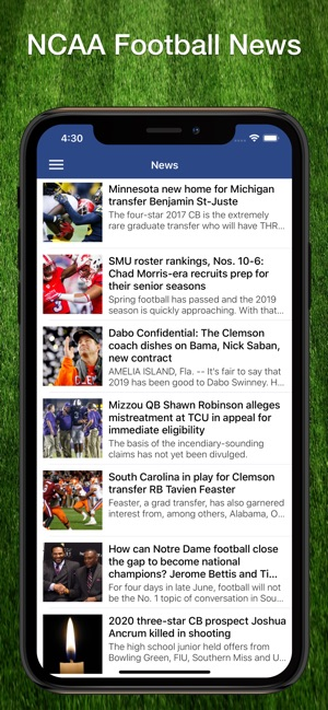 Scores App: College Football on the App Store