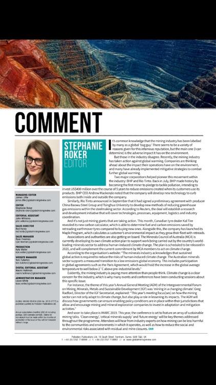 Global Mining Review screenshot-4