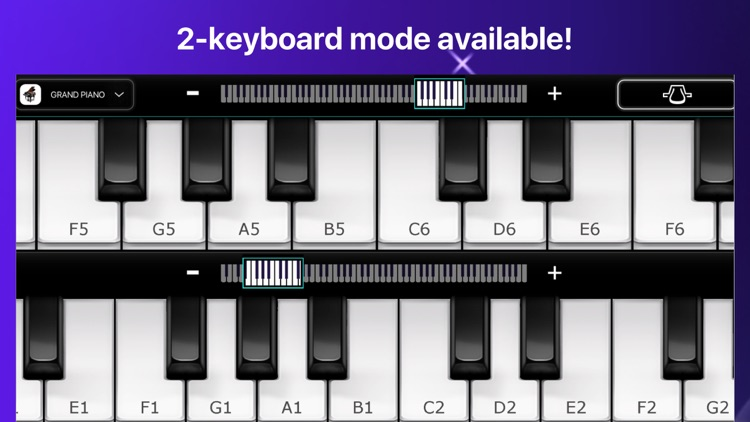 Piano - simply game keyboard screenshot-4