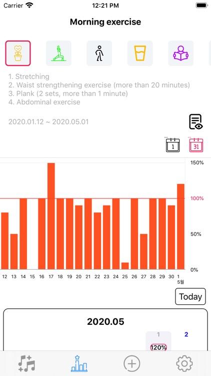 Rhythmic habit screenshot-3