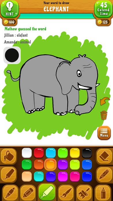 Draw N Guess Multiplayer for windows pc