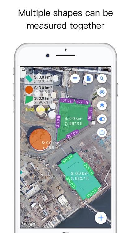 Planimeter Pro for map measure