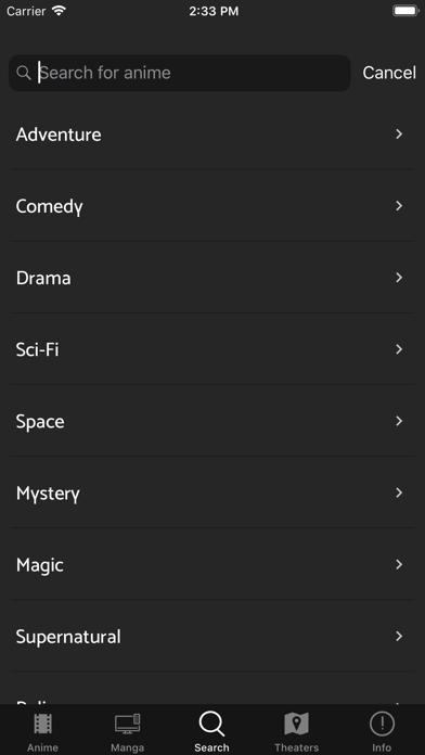 Manga Rock - Anime Lab Reader screenshot