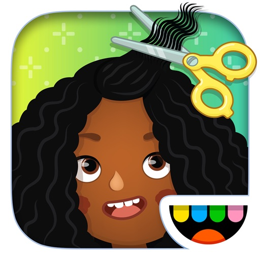 Toca Hair Salon 3 free software for iPhone and iPad