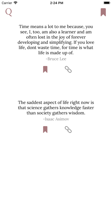 Quote Feed screenshot two