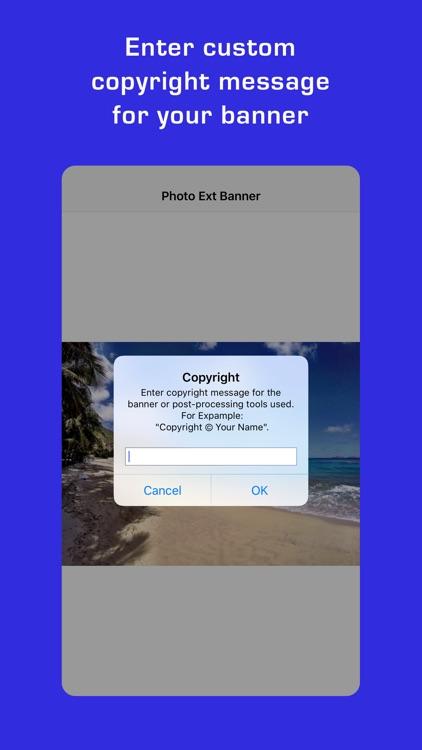Photo Extension Banner screenshot-4