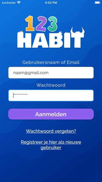123Habit Screenshot