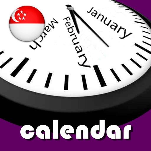 2019 Singapore Calendar