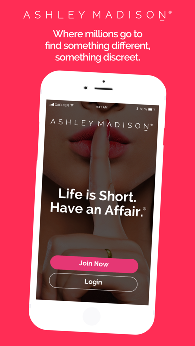 ASHLEY MADISON: Life Is Short. Screenshot