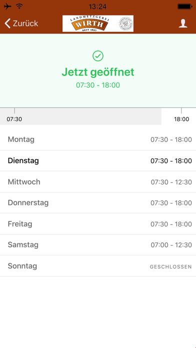 Landmetzgerei Wirth screenshot 2