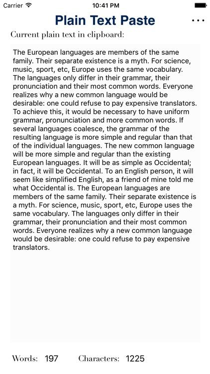 Plain Text Paste screenshot-4