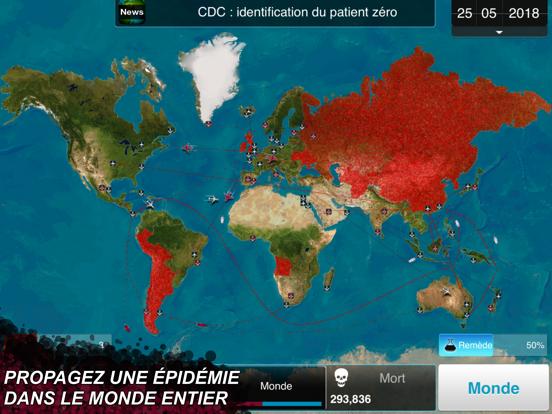 Plague Inc. iPad captures décran