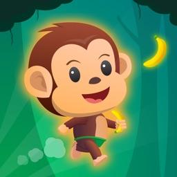 Monkey Run, Jump & Go Bananas!