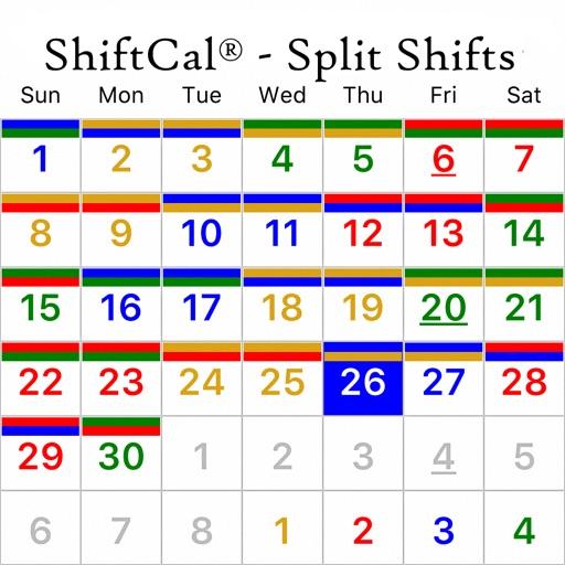 ShiftCal® for Split Shifts