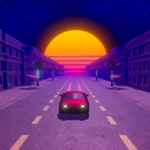 OverDrive - Synthwave Racer на пк