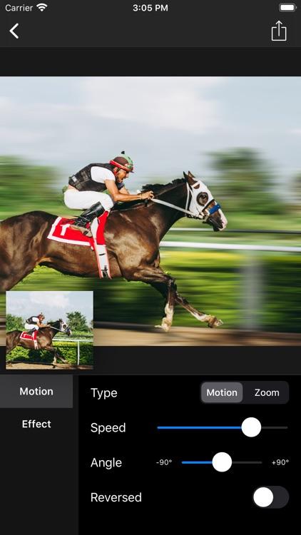 Motion Blur - Panning Photo screenshot-4