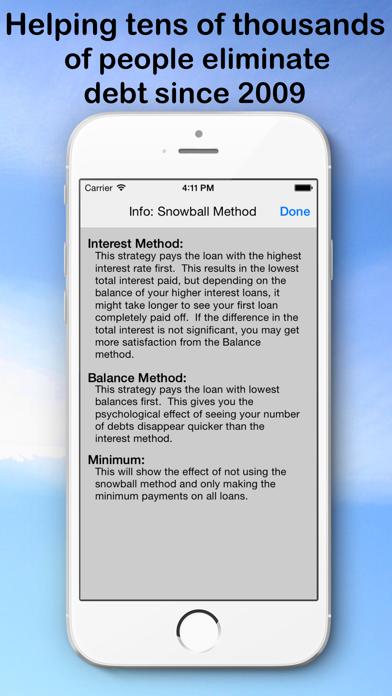 Debt Snowball Pro - Pay Debt screenshot three